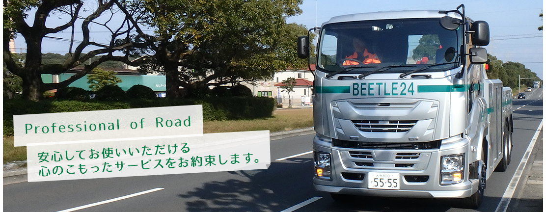 BEETLE 24 professional of Road